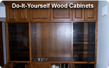 do it yourself wood cabinets